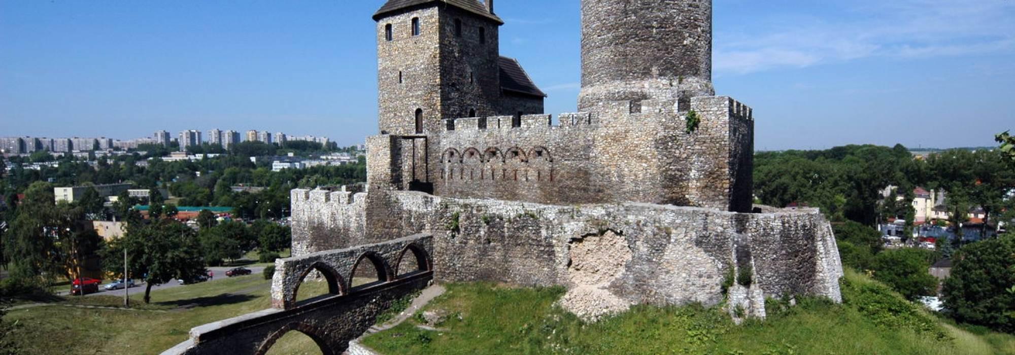 Voivodato Della Slesia Polonia castello di bedzin in polonia - voivodato della slesia