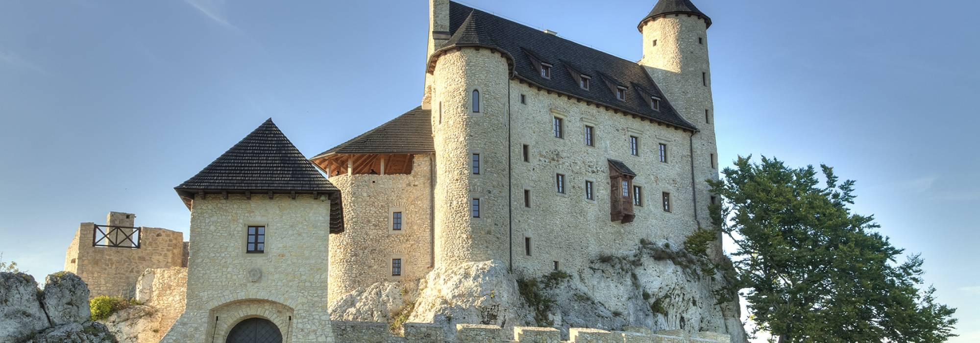 Voivodato Della Slesia Polonia castello di bobolice in polonia - voivodato della slesia