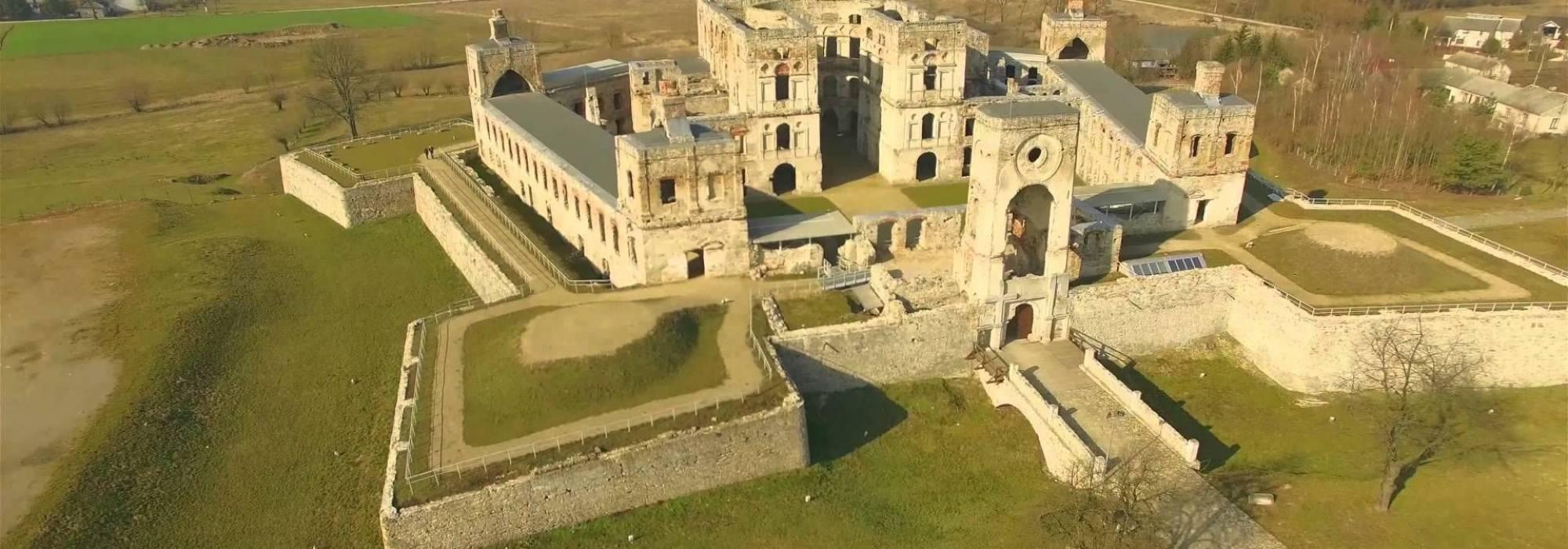 Voivodato Della Slesia Polonia castello di krzyżtopór in polonia - voivodato della santacroce