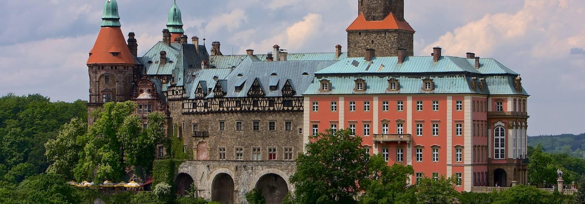 Voivodato Della Slesia Polonia castello di książ in polonia - voivodato della bassa slesia